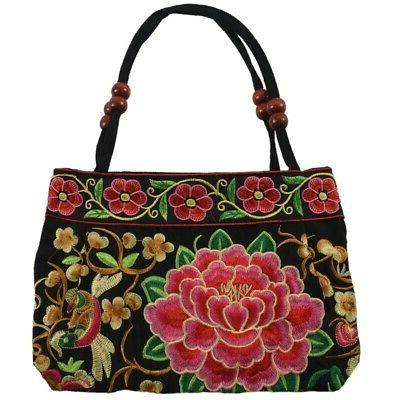 style chinois femmes sac a main broderie