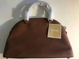 NEW Michael Kors Emmy 35T9GY3S3L LG Dome Saffiano Leather Sa